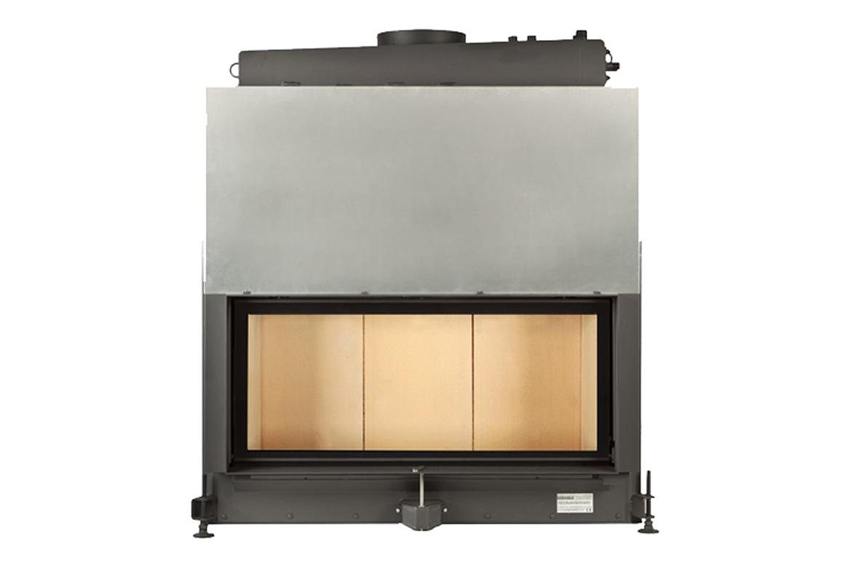Teplovodná krbová vložka Brunner Architektur-Kamin 45/101 s H2O nadstavcom
